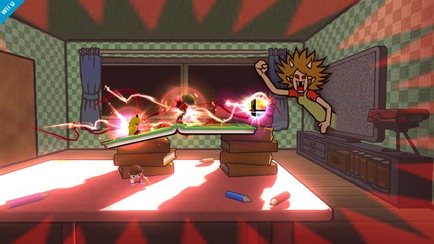 Super Smash Bros Wii U Stage