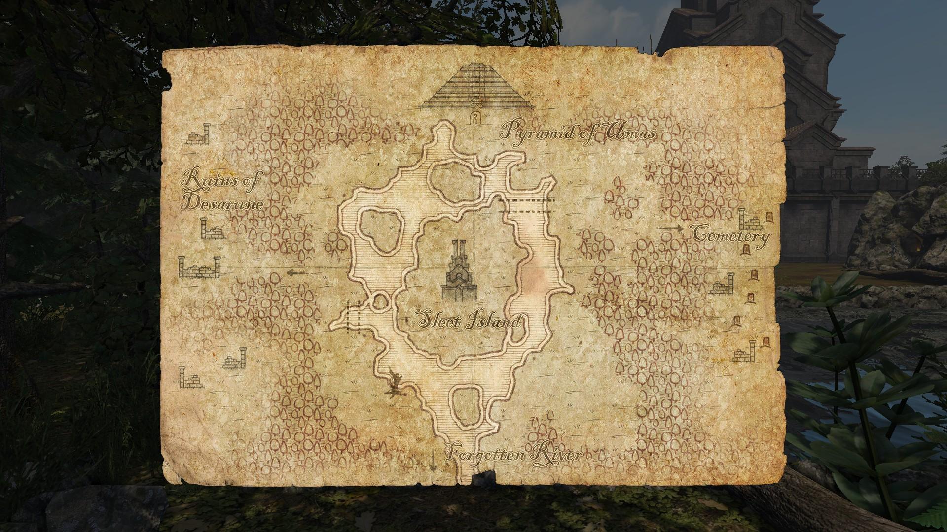 legend of grimrock 2 map