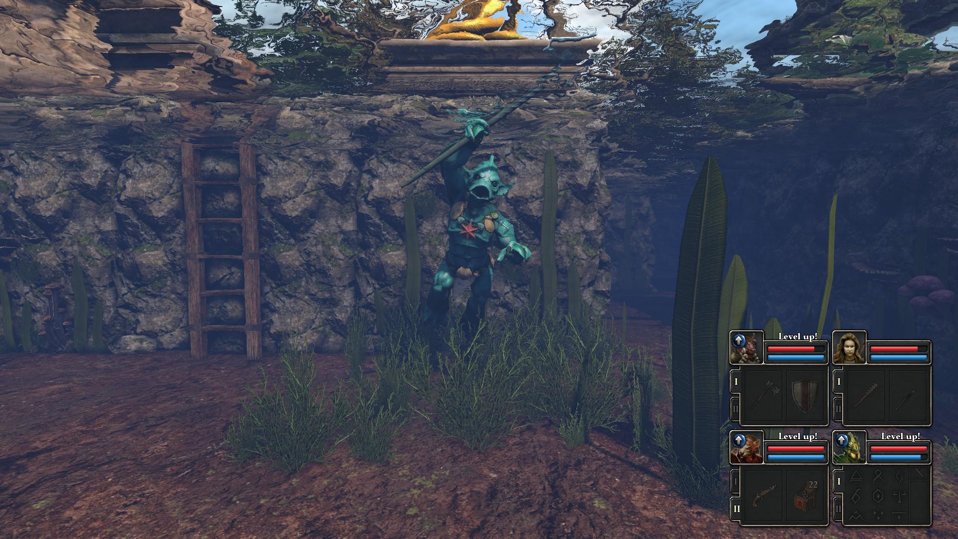 legend of grimrock 2 underwater
