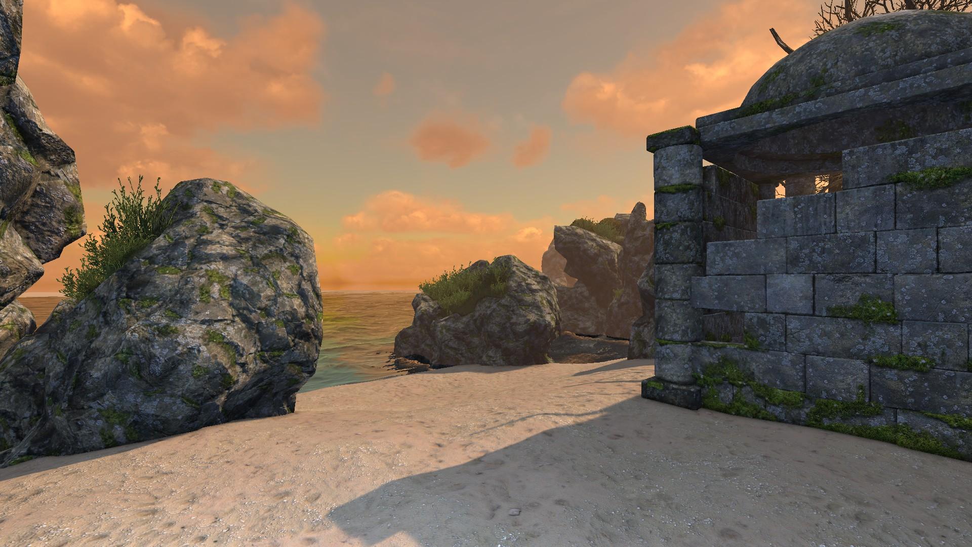 legend of grimrock 2 beach