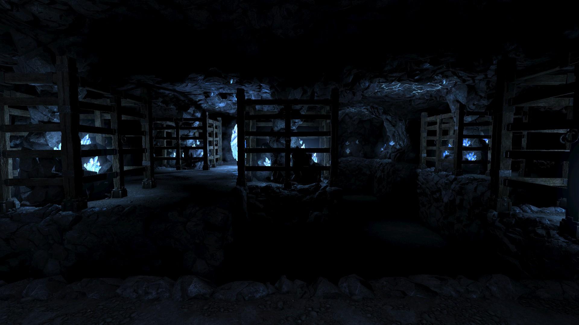 legend of grimrock 2 crystal mines