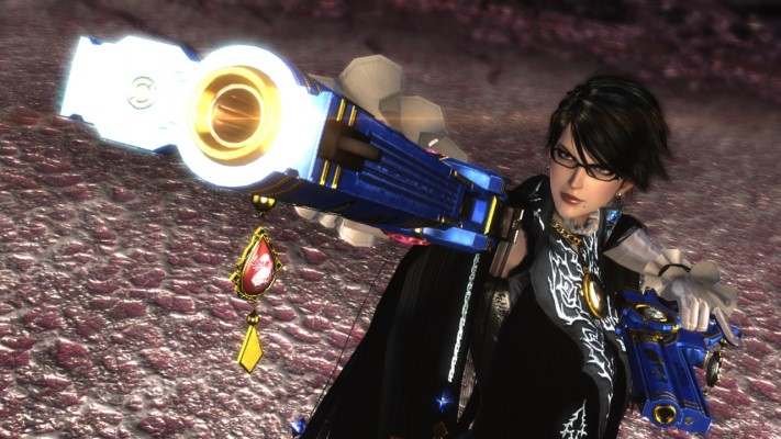 Rocking a new haircut, Bayonetta is the star of one of the greatest action games ever made.