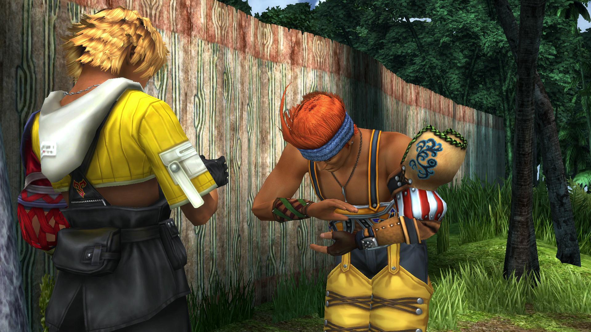 Final Fantasy X Praise Yevon