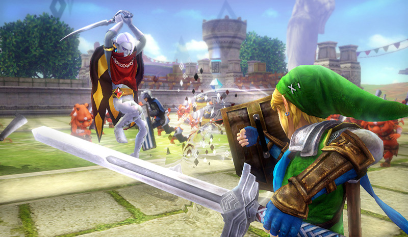 Hyrule Warriors Skyloft