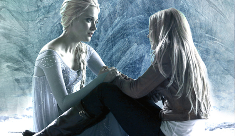 Once Upon a Time Emma Elsa Leviathyn