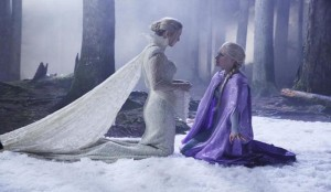OUAT Breaking Glass Snow Queen Elsa Leviathyn