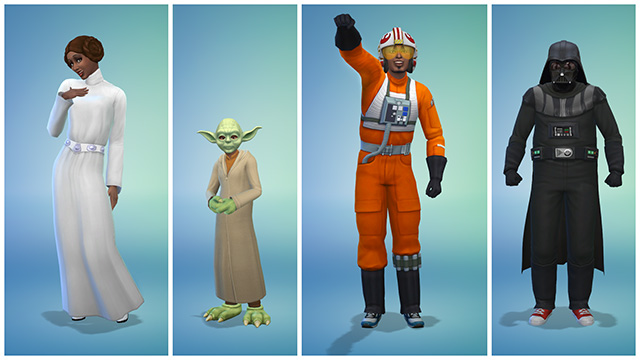 Sims 4 costumes