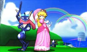 Smash Bros 3DS Peach Leviathyn