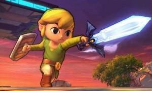 Smash Bros 3DS Toon Link Leviathyn