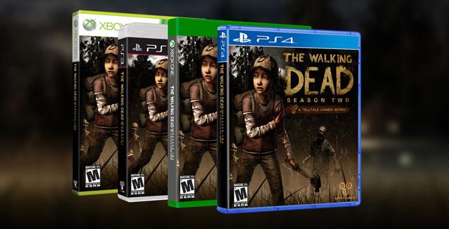 The Walking Dead Season Two Retail