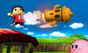 Villager Smash Bros 3DS Leviathyn
