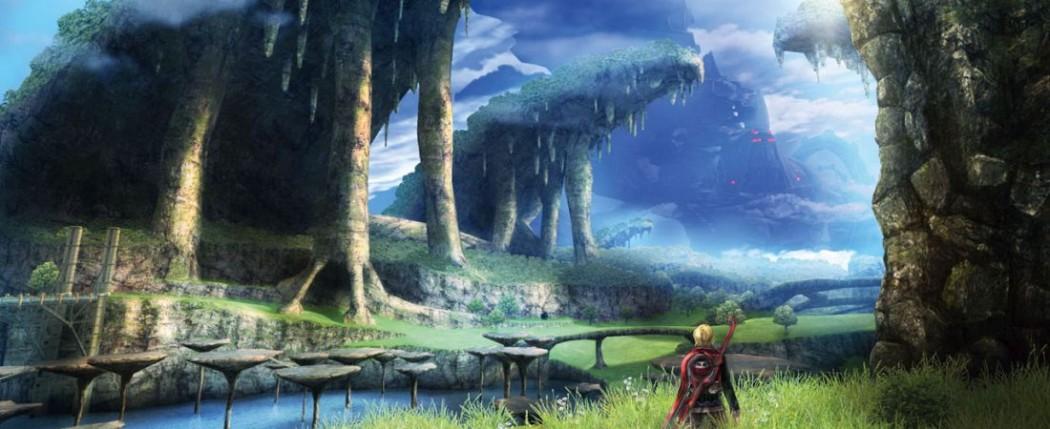 Xenoblade Chronicles mountains