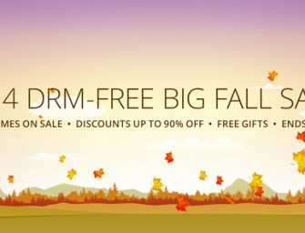 Get Free Games During GOG's Big Fall Sale