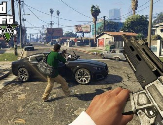 Upcoming GTA 5 Re-Release Will Include A First-Person Mode