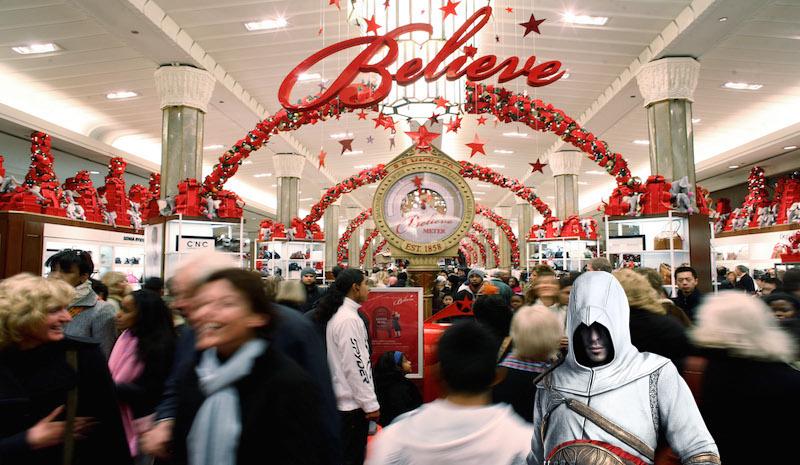 """Black Friday"" Launches Holiday Shopping Season"