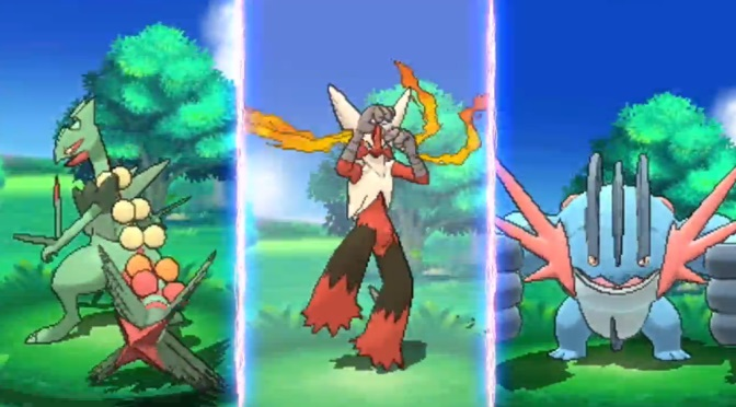 Treecko and Mudkip fans will be happy to see that they both have gotten Mega Evolutions to accompany their friend Mega Blaziken.