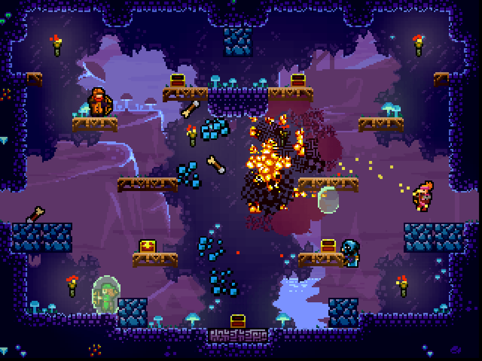 TowerFall Ascension backfire