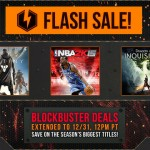 Playstation Holiday Sales Extended