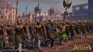 Picture from the upcoming Total War: Atilla game