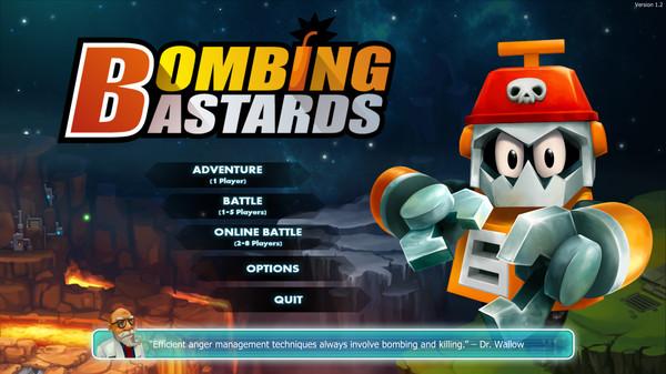 bombing bastard menu
