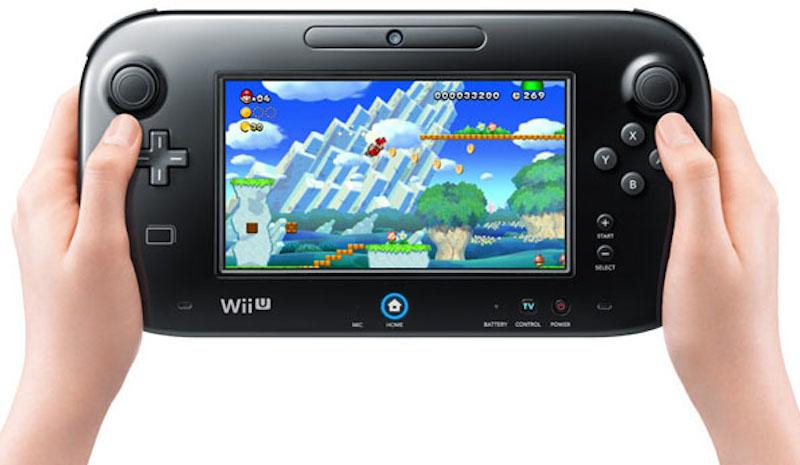 Wii U Gamepad Black