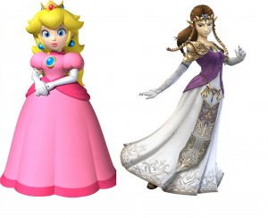 zelda and peach pic