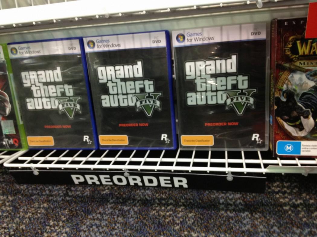 Grand Theft Auto V PC Pre-Order