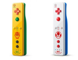 Toad & Bowser themed Wii Remotes Heading to Japan
