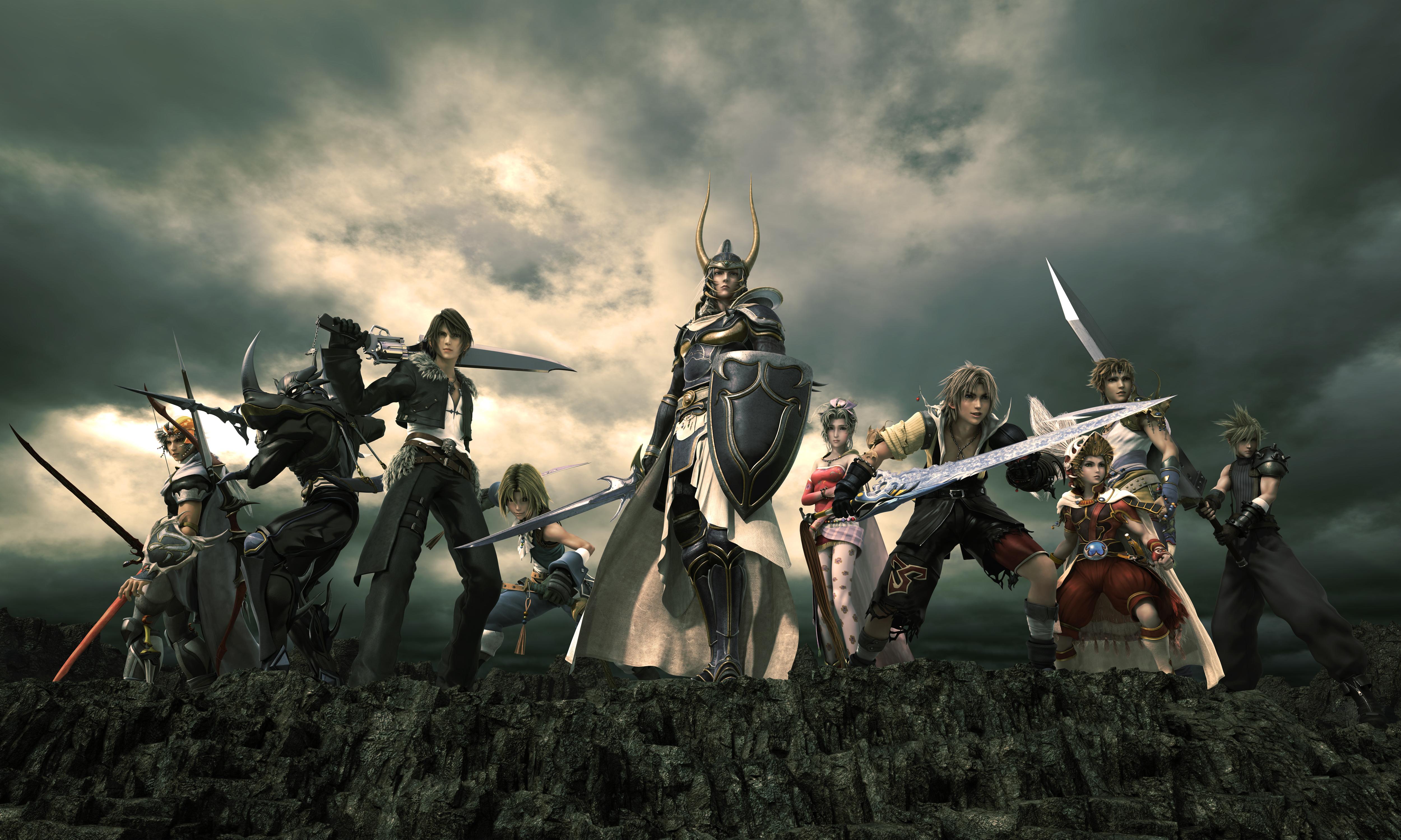 Top 10 Final Fantasy Weapon Designs