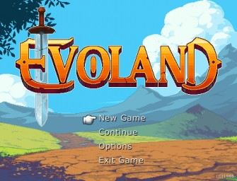 Evoland… RPG Evolution.