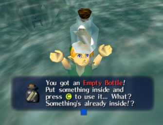 Get Every Empty Bottle In Majora's Mask 3D