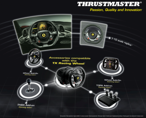 thrustmaster eco system