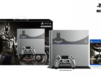 Sony Announces Batman: Arkham Knight PS4 Bundles
