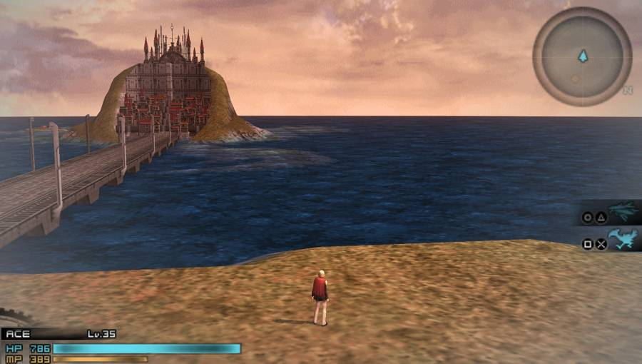 Final Fantasy Type-0 HD world map