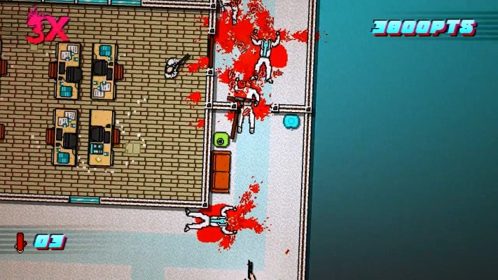 Architecture and the tendencies of enemy AI make for a puzzle component in this action game.