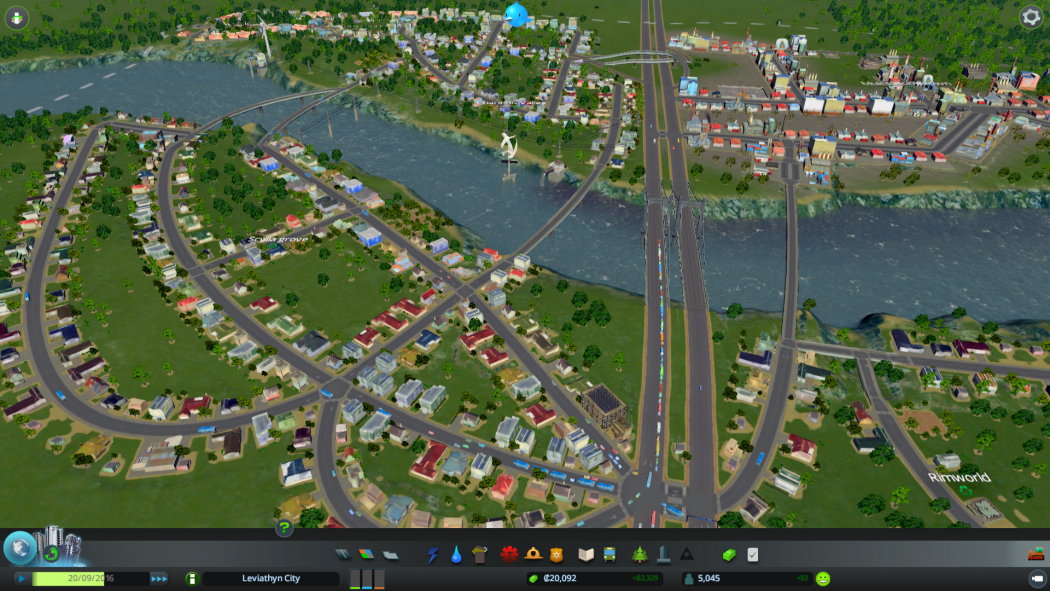Cities: Skylines early town