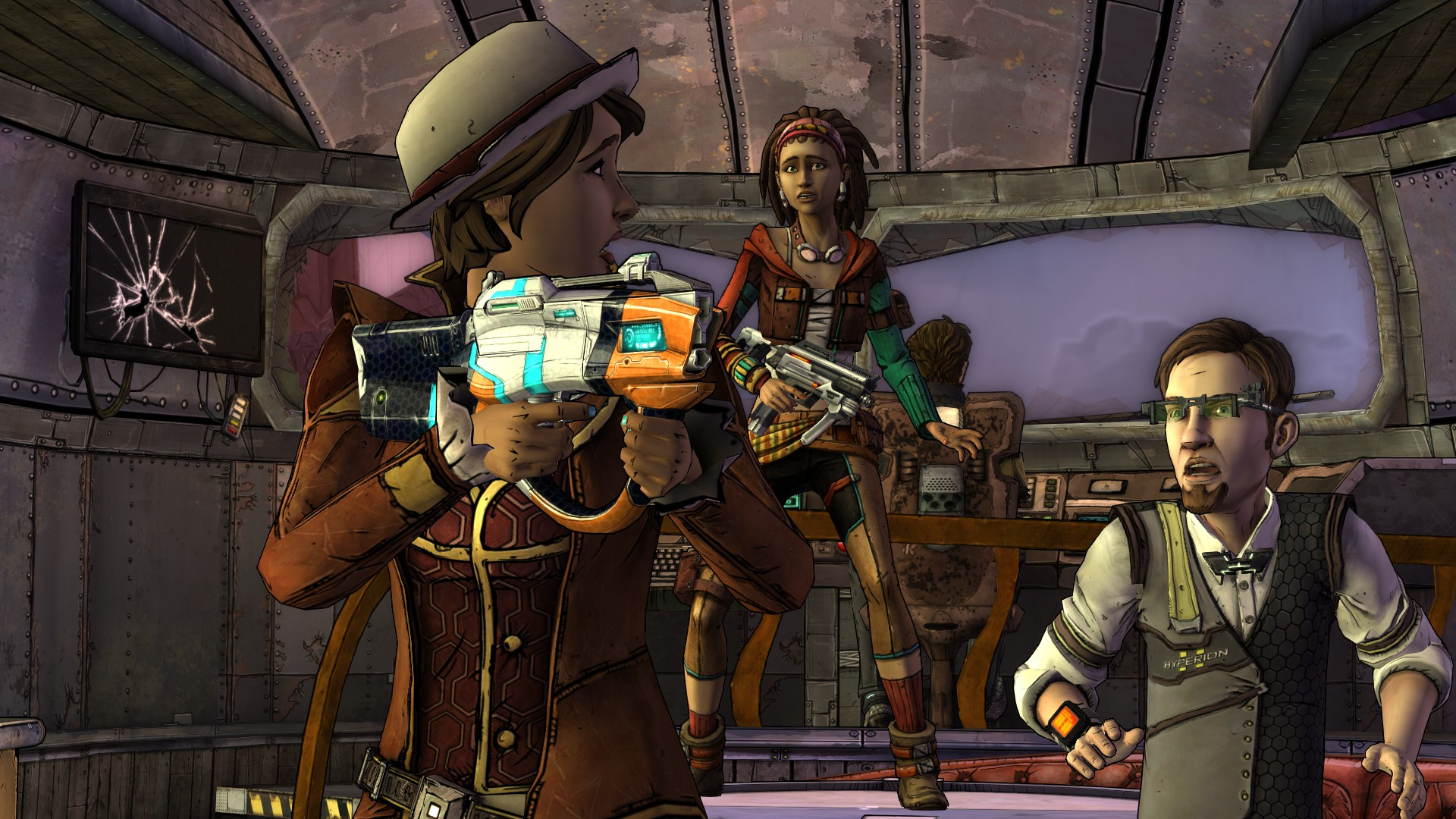 """Tales from the Borderlands Episode Two - """"Atlas Mugged"""" Review Borderlands 2 Review"""