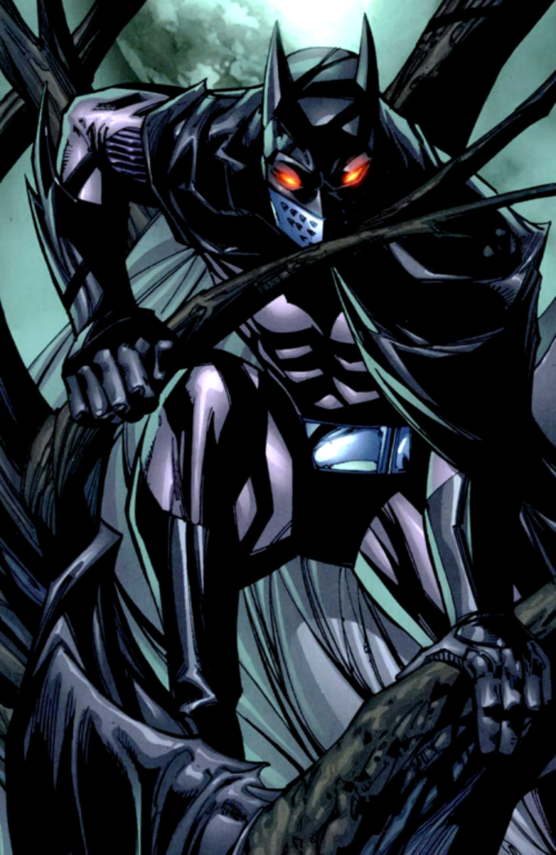 Jason Todd as Batman.
