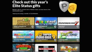 2015 Club Nintendo Elite Status Gifts