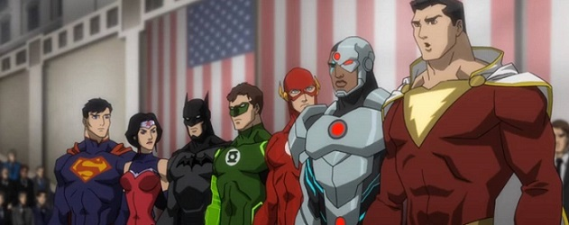 The Team, as featured in Justice League: War