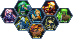 Combat Core Kickstarter Image