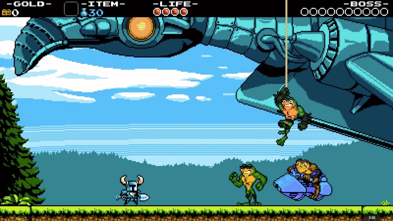 Shovel Knight Battletoads