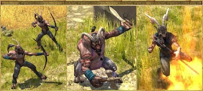 titan quest satyrs