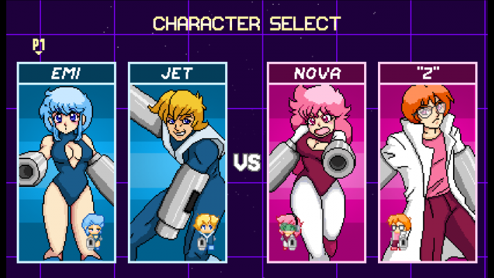 Capsule Force Character Select