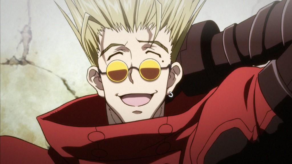 Vash and his trademark shades.