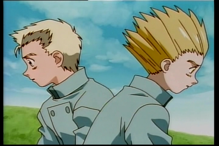 Vash and his brother, Knives.
