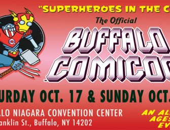 Review of Buffalo, New York Comicon