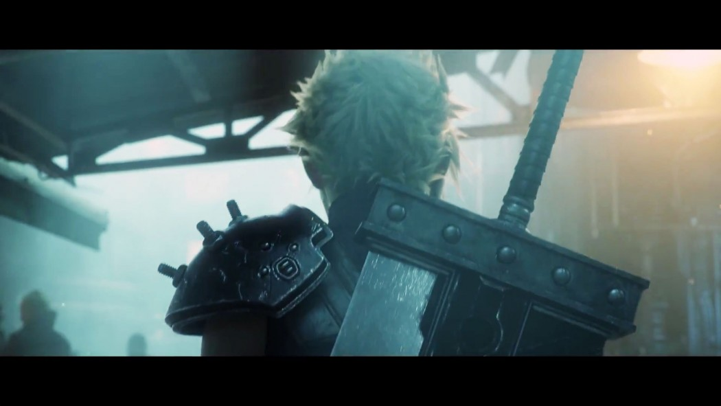 Remake Cloud Buster Sword back