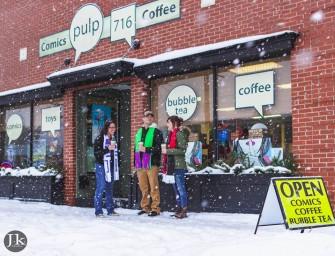 Pulp 716 Coffee, Comics, and Cosplay