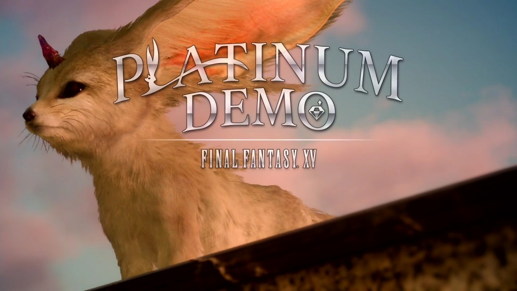 FFXV Platinum Demo Title Screen